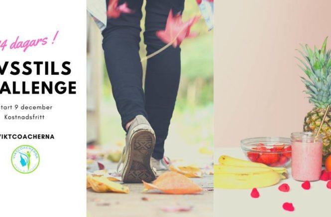 14 dagar Livsstils Challenge med Viktcoacherna